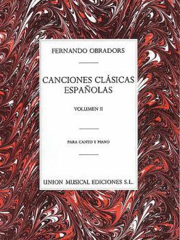 Canciones Clasicas Españolas - Volumen II (Voice and Piano) (HL-14023897)