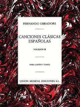 Canciones Clasicas Espanolas - Volumen III (Voice and Piano) (HL-14023898)
