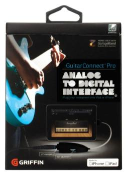 GuitarConnect Pro Original: Analog to Digital Interface for iPad and i (GR-00123887)