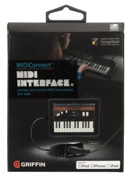 MIDIConnect: MIDI Interface for iOS Devices (GR-00123888)