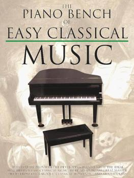 The Piano Bench of Easy Classical Music (HL-14025483)