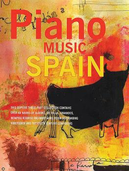 Piano Music Of Spain: Volumes One To Three (HL-14025501)