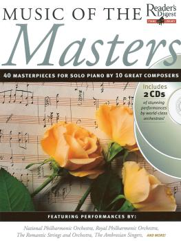 Music of the Masters: Reader's Digest Piano Library Book/2-CD Pack (HL-14026960)