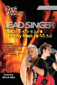 Breck Alan - Lead Singer: Vocal Techniques: Heavy Rock to Metal Level  (HL-14027239)