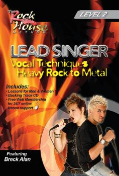 Breck Alan - Lead Singer: Vocal Techniques: Heavy Rock to Metal Level  (HL-14027240)
