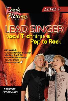 Breck Alan - Lead Singer Vocal Techniques Pop to Rock (Level 2) (HL-14027242)