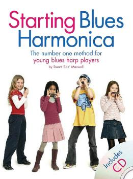 Starting Blues Harmonica (Young Player Edition) (HL-14031348)