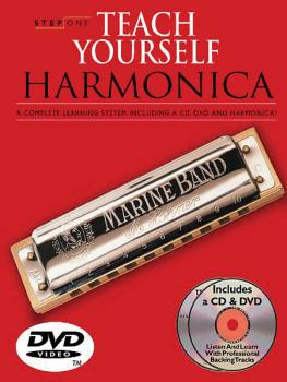 Step One: Teach Yourself Harmonica Course: Book/3 CDs/DVD/Harmonica Pa (HL-14031431)