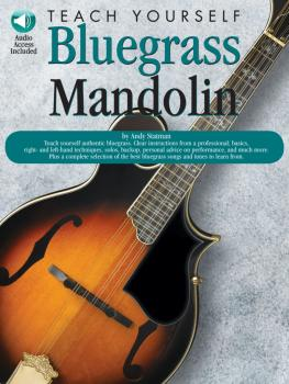 Teach Yourself Bluegrass Mandolin (HL-14032915)