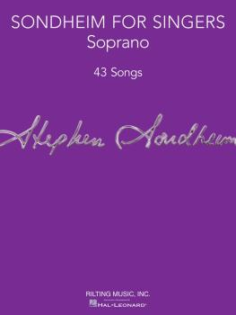 Sondheim for Singers (Soprano 43 Songs) (HL-00124179)