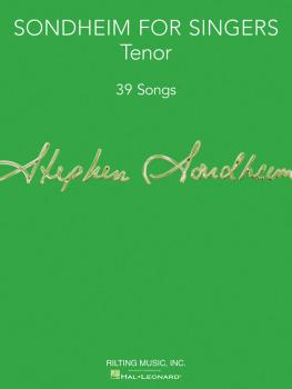 Sondheim for Singers (Tenor 39 Songs) (HL-00124181)