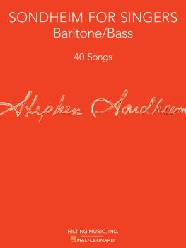 Sondheim for Singers: Baritone/Bass 40 Songs (HL-00124182)