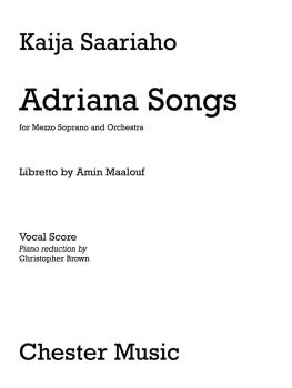 Adriana Songs: Mezzo Soprano and Piano Reduction (HL-14041596)