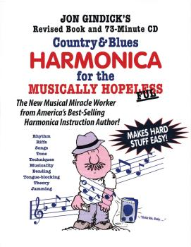 Country & Blues Harmonica for the Musically Hopeless: Revised Book and (HL-14041618)