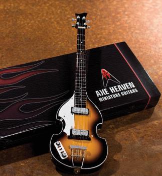 Classic Violin Bass Model: Miniature Guitar Replica Collectible (HL-00124399)