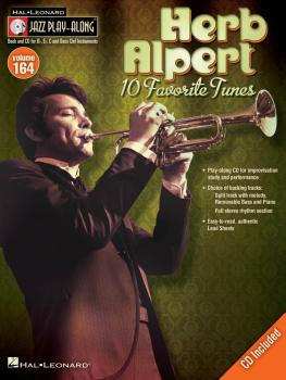 Herb Alpert: Jazz Play-Along Volume 164 (HL-14041775)