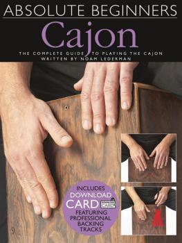 Absolute Beginners - Cajon: The Complete Guide to Playing the Cajon (HL-14042869)