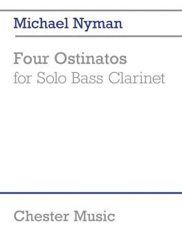 4 Ostinatos for Solo Bass Clarinet (HL-14043123)