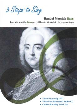 3 Steps to Sing Handel Messiah: Learn to Sing the Bass Part of the Han (HL-14043213)