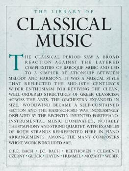 The Library of Classical Music (HL-14043591)