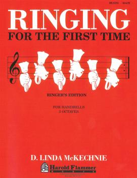 Ringing for the First Time Handbell Method: 3 Octaves of Handbells (HL-35018367)