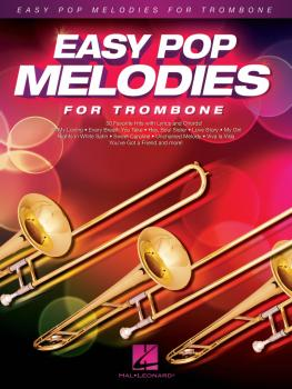 Easy Pop Melodies (for Trombone) (HL-00125789)