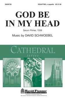 God Be in My Head: Shawnee Press Cathedral Series (HL-35026738)