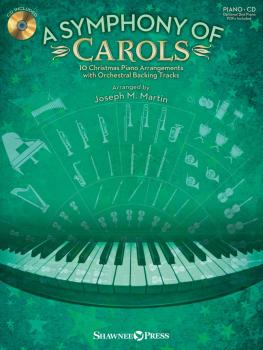 A Symphony of Carols: 10 Christmas Piano Arrangements with Full Orches (HL-35028946)