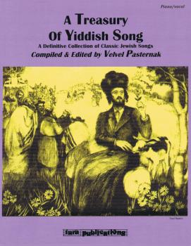 A Treasury of Yiddish Song: A Definitive Collection of Classic Jewish  (HL-00127185)