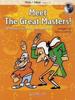 Meet the Great Masters!: Flute/Oboe - Grade 1-2 (HL-44000534)