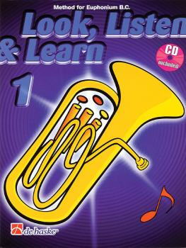 Look, Listen & Learn - Method Book Part 1 (Euphonium B.C.) (HL-44001256)