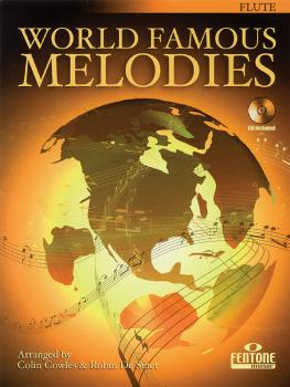 World Famous Melodies: Flute Play-Along Book/CD Pack (HL-44001403)