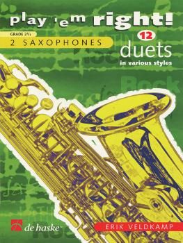 Play 'Em Right Duets (Saxophone) (HL-44003343)