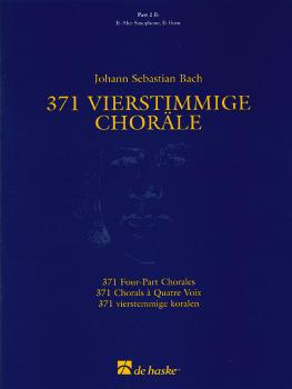 371 Vierstimmige Choräle (Four-Part Chorales): Part 2 in Eb - Treble C (HL-44003555)