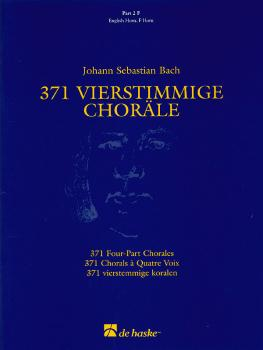 371 Vierstimmige Choräle (Four-Part Chorales): Part 2 in F - F Horn, E (HL-44003556)
