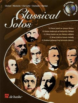 Classical Solos: Classical Instrumental Play-Along Book/CD Pack (HL-44003611)