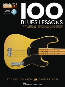100 Blues Lessons: Bass Lesson Goldmine Series (HL-00131002)