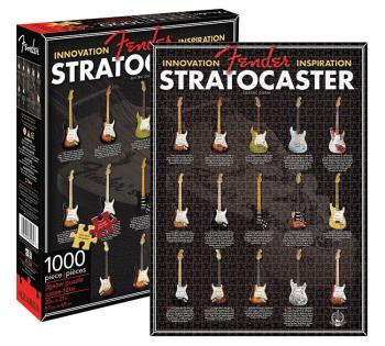 Fender Stratocaster - 1000-Piece Jigsaw Puzzle (20 inch. x 27 inch.) (HL-00131245)