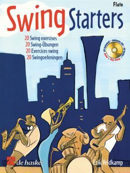 Swing Starters: Flute Play-Along Book/CD Pack (HL-44004928)