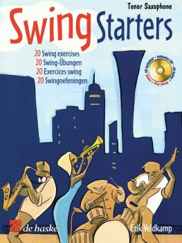 Swing Starters: Tenor Sax Play-Along Book/CD Pack (HL-44004931)