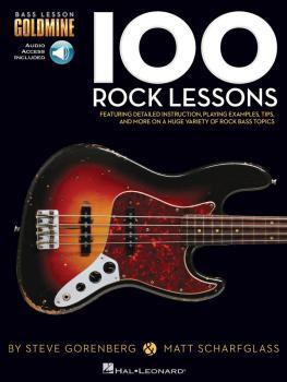 100 Rock Lessons: Bass Lesson Goldmine Series (HL-00131461)
