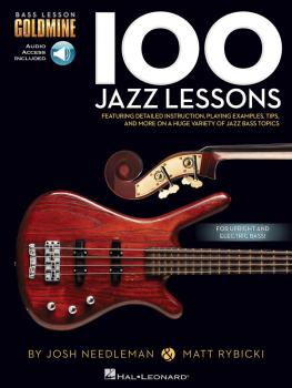 100 Jazz Lessons: Bass Lesson Goldmine Series (HL-00131462)