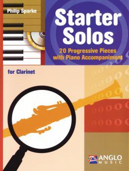 Starter Solos for Clarinet: 20 Progressive Pieces with Piano Accompani (HL-44006596)