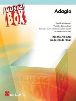 Adagio: Music Box Variable Wind Quintet (HL-44006602)