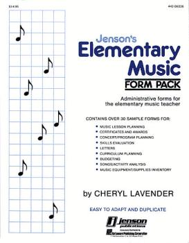 Elementary Music Form Pack (Resource) (HL-44206036)