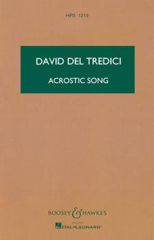 Acrostic Song (from Final Alice) (for Soprano and Eleven Instruments) (HL-48002275)