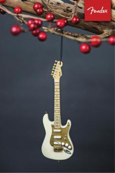 Fender '50s Cream Strat - 6 inch. Holiday Ornament (HL-00139449)