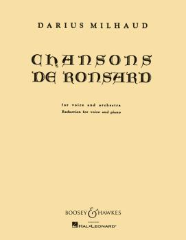 Chansons de Ronsard (Voice and Piano) (HL-48008351)