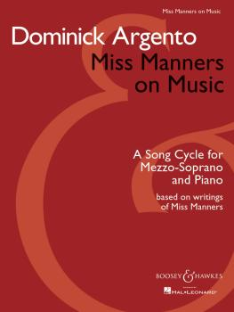 Miss Manners on Music: A Song Cycle for Mezzo-Soprano and Piano (HL-48008516)