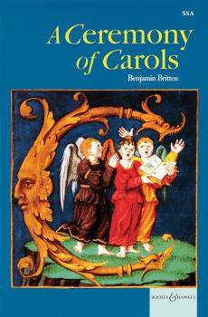 A Ceremony of Carols op. 28: 1942, rev. 1943 SSA and Harp or Piano (HL-48008894)
